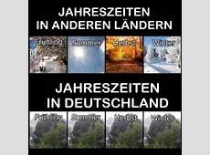 Jahreszeiten in anderen Ländern Jahreszeiten in