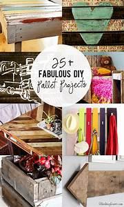 25, Diy, Fabulous, Pallet, Projects