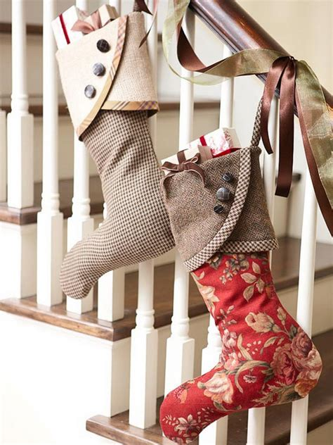 easy unique handmade christmas stockings ideas family