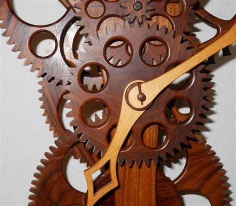 wooden gear movements   build diy woodworking
