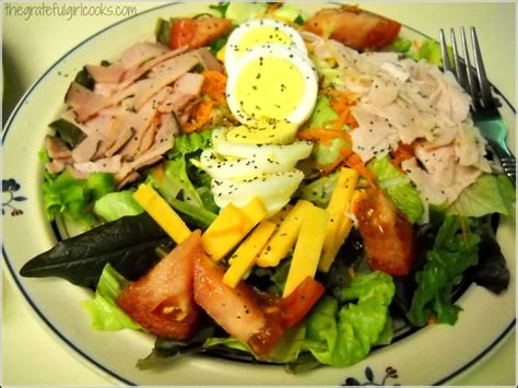 chef salad quick n easy chef s salad the grateful girl cooks