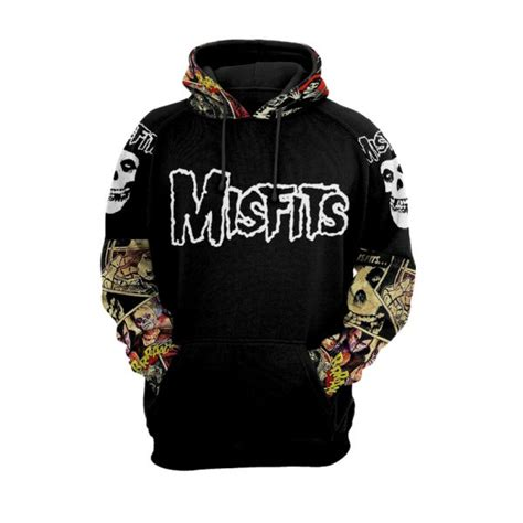 Misfits Cartoon Men and Women 3D Full Printing Hoodie ...