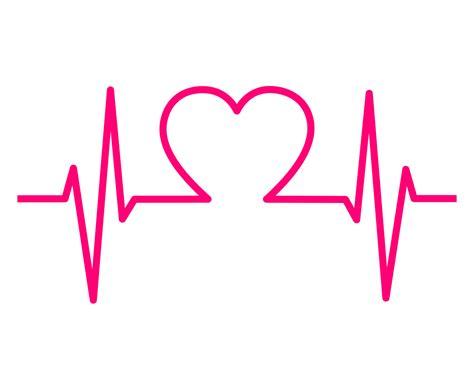 Heartbeat clipart transparent, Heartbeat transparent ...