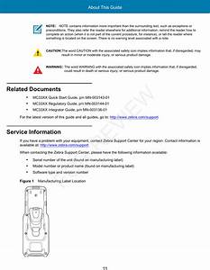 Zebra Technologies Mc330m Mobile Computer User Manual Mc33