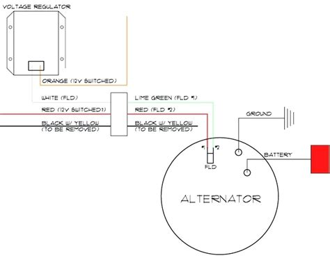 diagram deere alternator wiring diagram