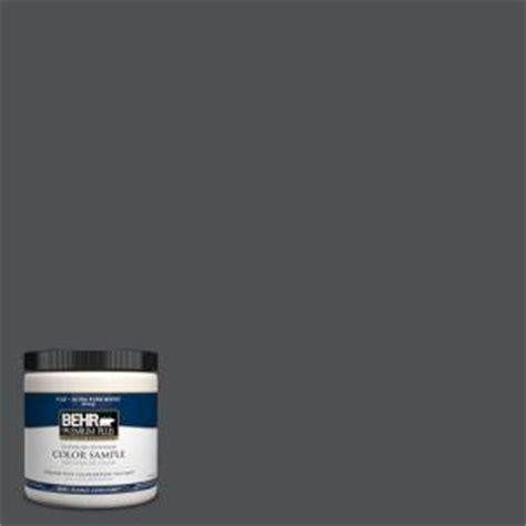 behr premium plus 8 oz 770f 6 evening hush interior exterior paint sle 770f 6pp the home