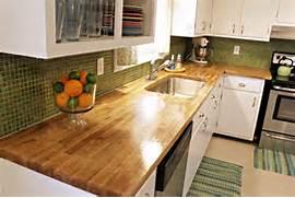 Diy Kitchen Countertop Ideas by DIY End Grain Butcher Block Countertops Designs