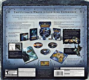 World Of Warcraft Wrath Of The Lich King Collector