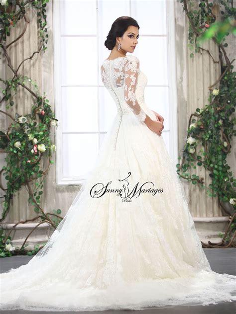 robe de mariee chetre robe mari 233 e dentelle mode en image