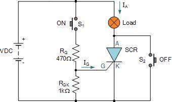 Thyristor Circuit Switching Circuits