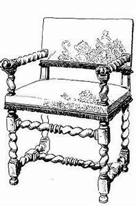 Chaise Louis Xiii : le style de mobilier louis xiii screstauration ~ Melissatoandfro.com Idées de Décoration