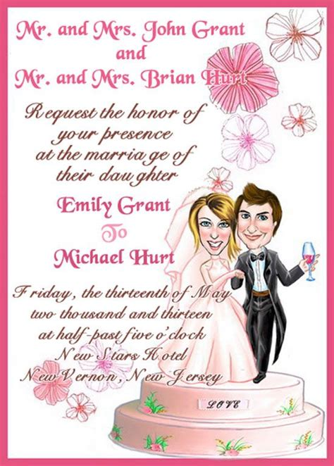 guide  wedding invitations messages st bridal world wedding ideas  trends wedding