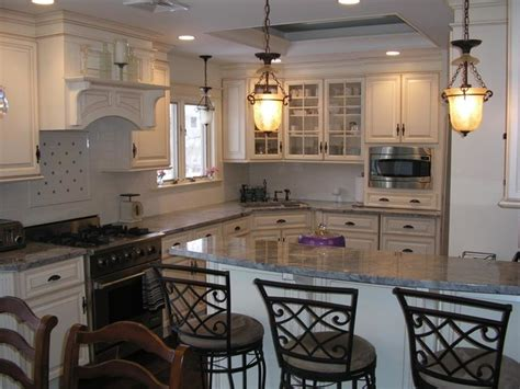 traditional elegant kitchen dining room combination