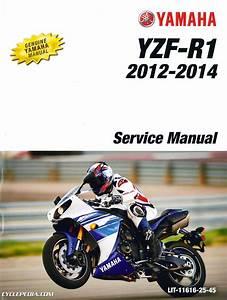 2012  U2013 2014 Yamaha Yzfr1b Yzf
