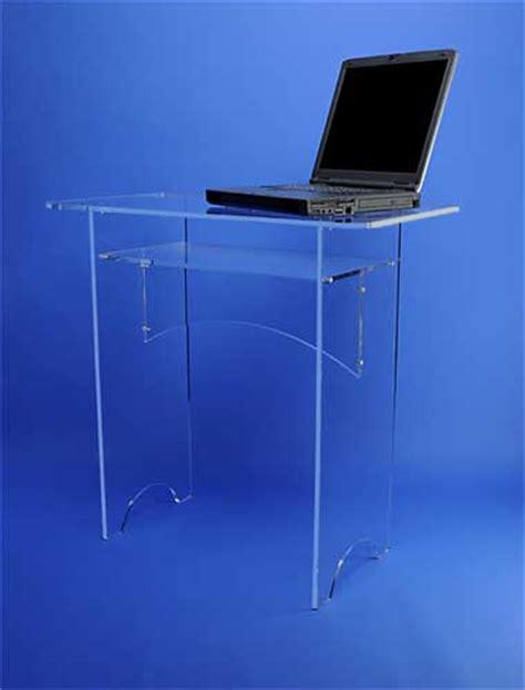 bureau plexiglas bureaux et tables plexiglas