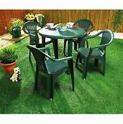 Green Plastic Folding Garden Chairs by Outdoor Furniture Hire Bybrook Hire