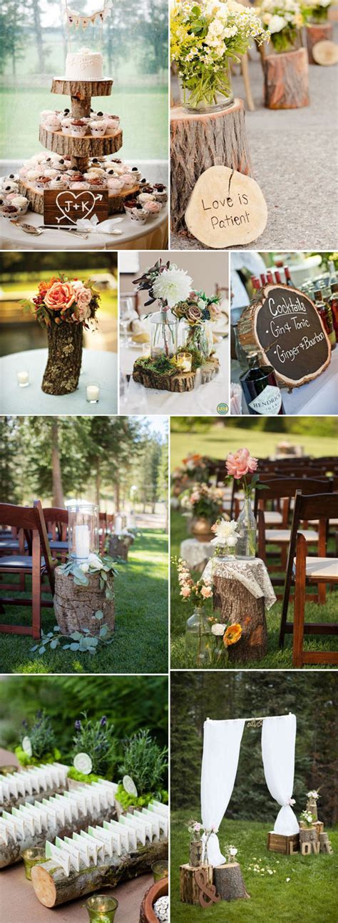 50+ Genius Ideas to Incorporate Wood Into Your Wedding