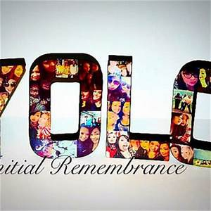 custom photo letter collage 3d from initialremembrance on With letter shaped picture frames