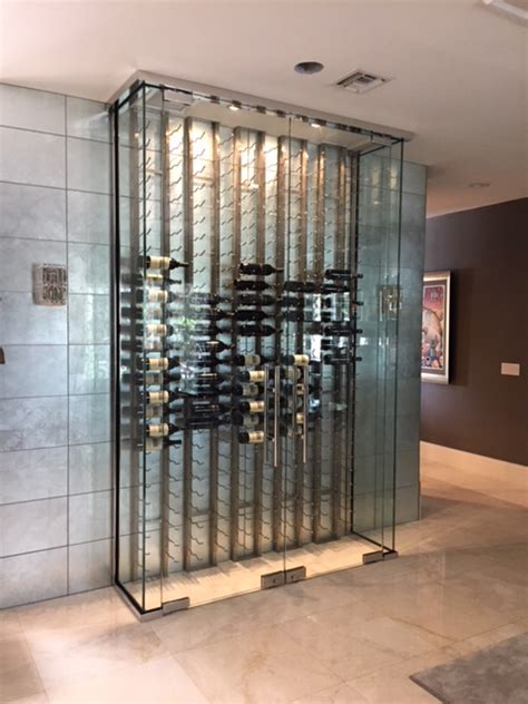 custom wine enclosures services grove glass mirror