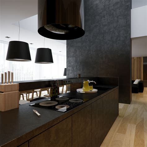 cuisine gorenje modern minimalist black and white lofts