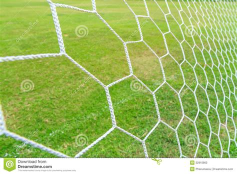 soccer goal net stock  image