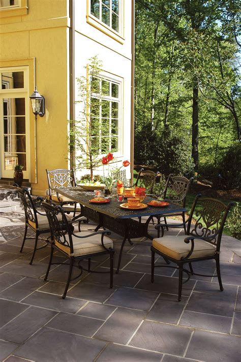 Hanamint Patio Furniture by Hanamint Grand Tuscany Collection Rust Proof Cast
