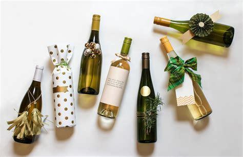 7 Festive Ways To Wrap Wine — Gift Horse + Co