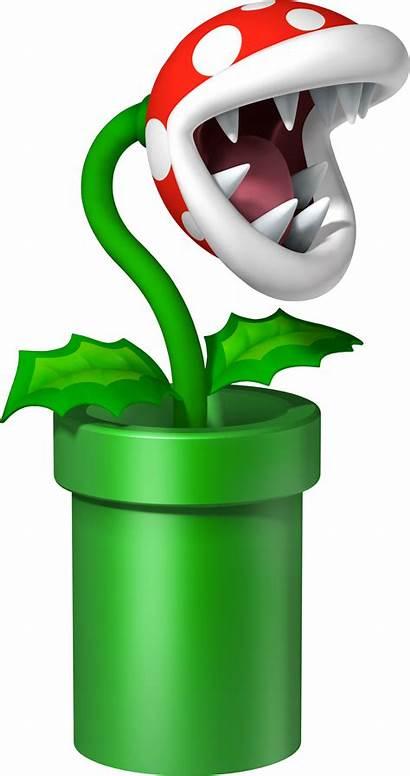 Mario Pipe Piranha Plant Bros Transparent Pirahna