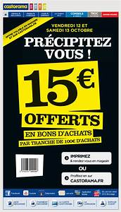 Mömax Newsletter 10 Euro : galerie de newsletters castorama 15 euros offerts pour 100 euros d 39 achats chez castorama ~ Bigdaddyawards.com Haus und Dekorationen