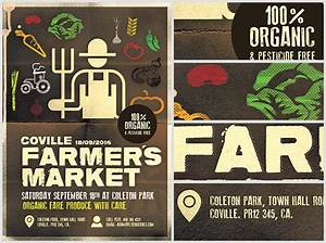 Farmer's Market Poster Template - FlyerHeroes