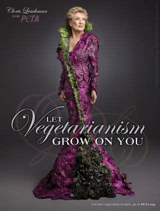 veggie tales cloris leachman s peta ad daily dish los angeles times