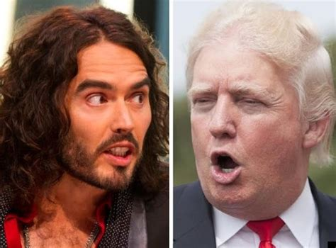 russell brand donald trump russell brand takes on donald trump in vicious twitter