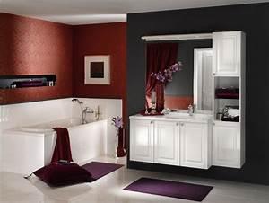 Couleur Mur Salle De Bain : la salle de bains familiale pas grande id es couleur pour mur rampant ~ Dode.kayakingforconservation.com Idées de Décoration