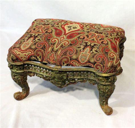 antique ottomans for bargain s antiques antique cast iron foot 4120