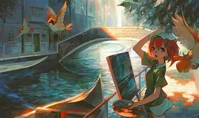 Anime Artwork Paiting Doing Wallpapers Artist Pixiv