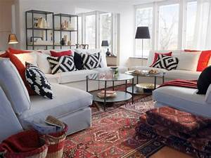 comment positionner son tapis maisonapart With tapis kilim avec canape cinema maison