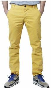 Souq | Jack and Jones Yellow Slim Fit Jeans Pant For Men ...