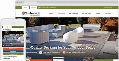 Timbertech Websites Decking Visit Case