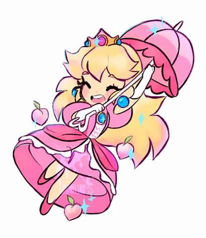 Peach Princess Bros Nintendo Mario Super Line