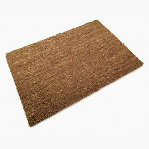 Plain Coir Doormat by 60 X 90cm Coconut Plain Coir Mat Doormat Matting