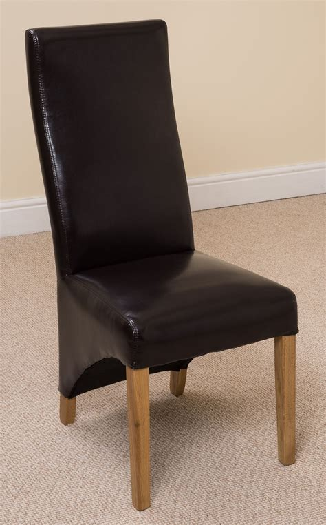curved leather dining chair curved leather dining chair