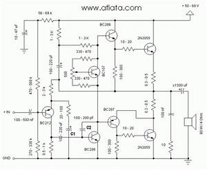 Best And Simple Power Amplifier Circuit Diagram Using