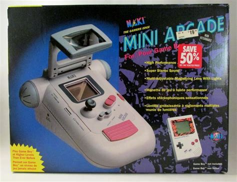 Naki Mini Arcade For Original Gameboy New In Box Naki