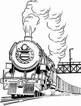 Coloring Steam Train Smoke Pages Engine Drawing Trains Colouring Diesel Printable Locomotive Drawings Netart Designlooter Getdrawings Getcolorings 790px 05kb Don sketch template