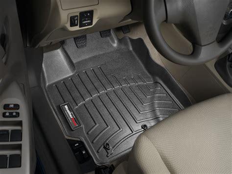 weathertech floor mats yaris weathertech floor mats floorliner toyota yaris sedan 2007 2011 black ebay