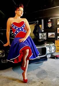 rebel pride corset and skirt nitus signature model With rebel flag wedding dress