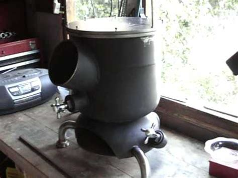 wood burning stove diy project youtube
