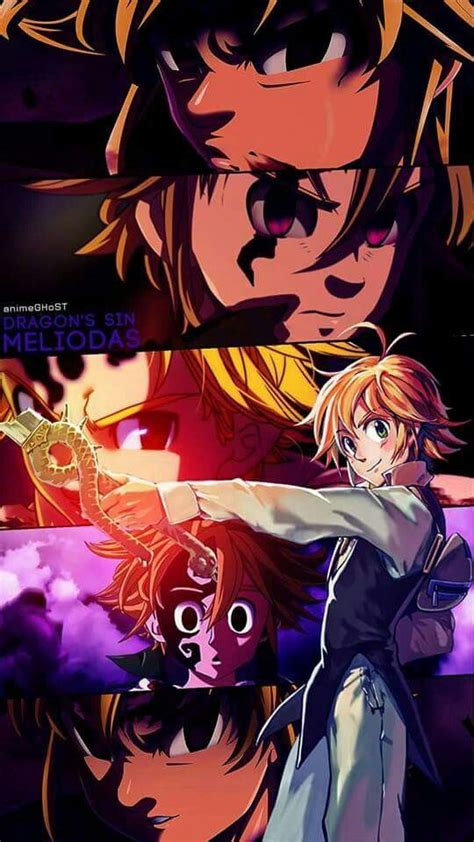 meliodas personajes de anime wallpaper de anime