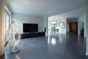 Betonboden Selber Machen : design beton boden raumkonzept trier spanndecken ~ Michelbontemps.com Haus und Dekorationen