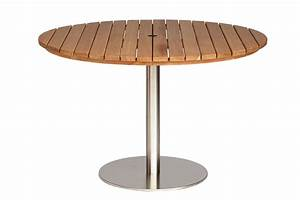 Jasper round garden tables bau outdoors for Extra large garden furniture table
